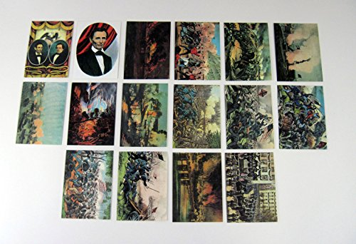 (1994 Freedom Press The Official Currier and Ives: Civil War Card Set (16) Nm/Mt)