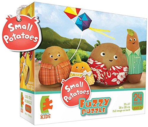 Ceaco Small Potatoes Flying a Kite (Fuzzy Puzzle) (Ceaco Fuzzy Puzzle)