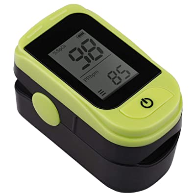 WI Fingertip Pulse-Monitor Blood Oxygen Saturation SpO2 PR-PI-Heart Rate Monitor Lightweight: Toys & Games