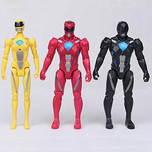 Amazon.com: power rangers amarillo negro rojo película de ...