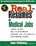 img - for Real-Resumes for Medical Jobs book / textbook / text book
