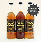 Holy Kakow Cafe Organic Syrups Sampler - 6 (750ml) Bottles