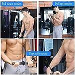 Fitness-LAT-E-Lift-Pulley-System-con-Antiscivolo-Grip-Famiglia-DIY-Lift-Pulley-System-Avambraccio-Polso-Blaster-Trainer-Arm-Strength-Roller-Ginnico-per-Tricipiti-Pull-Down-Bicipiti-CurlB