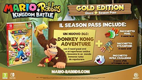 Mario + Rabbids Kingdom Battle - Gold - Nintendo Switch ...
