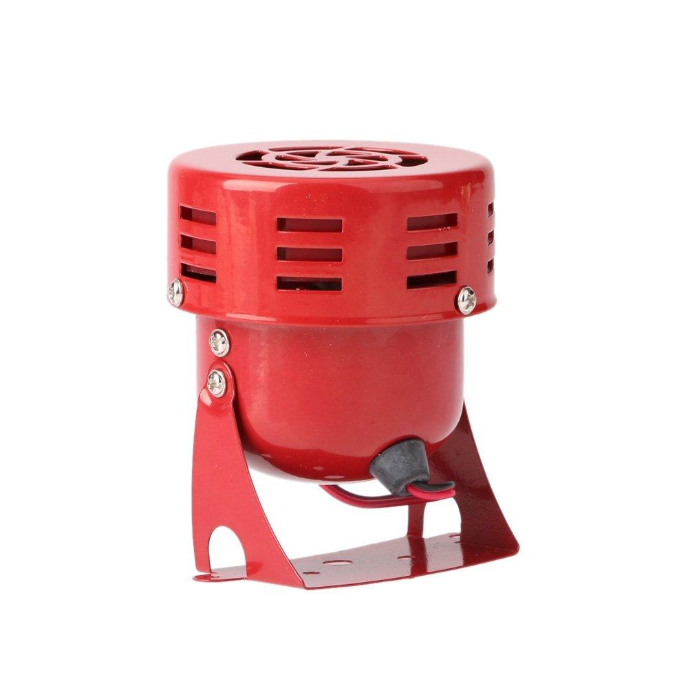 KKmoon 12/V 3/raid automobilistico aria sirena corno di camion di auto motor Driven allarme rosso