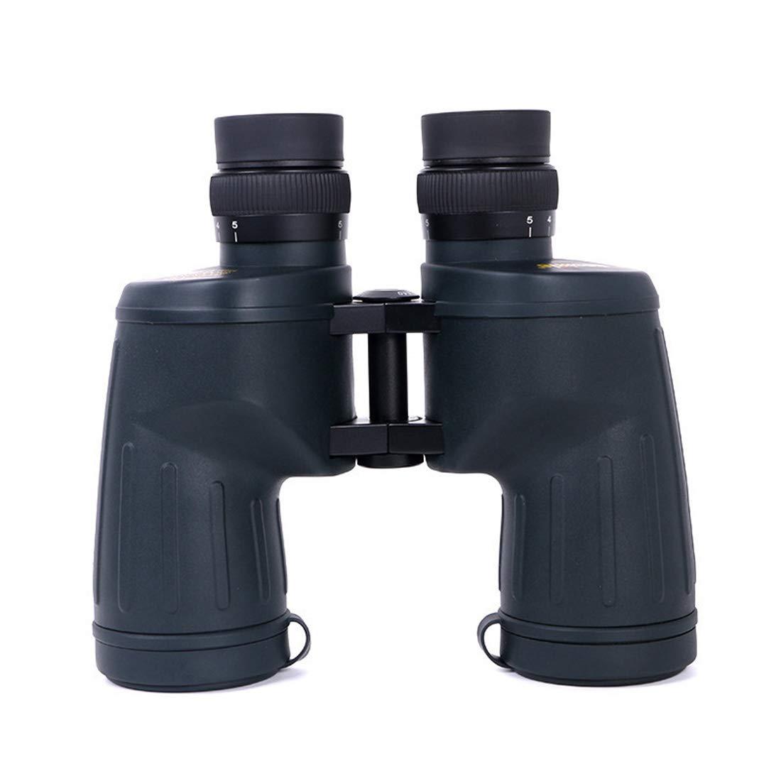 LINDANIG Hochleistungsfernglas 10  50 High-Definition-Low-Light-Nachtsichtkonzert mit wasserdichtem Teleskop für den Außenbereich schwarz