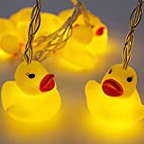 YQ-BEST 1.5 Meter Battery Powered Cute Animal Duck Shape 10 Led Fairy Lights String Lights for Halloween Christmas Thanksgiving Home Party Children Kids Bedroom Decoration (Duck)