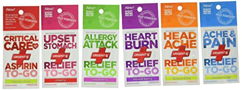 First Voice Ts Urx Dbl Powder Think Safe First Aid Immediate Relief Meds  Pack Of 12