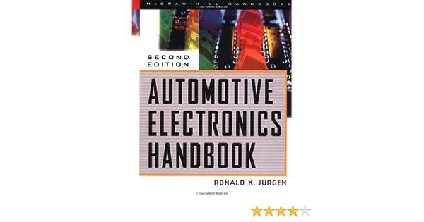 Automotive Electronics Handbook Ronald K Jurgen Pdf