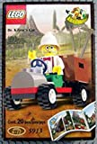 Lego Dino Island Dr. Kilroy's Car 5913