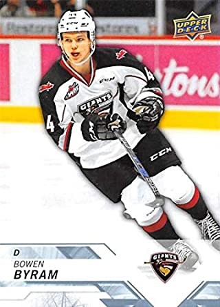 Amazon Com 2018 19 Upper Deck Chl Hockey 83 Bowen Byram Vancouver