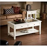 Cheap Holly and Martin Somerset Cocktail Table in White