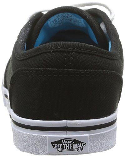 Schwarz Mädchen Canvas ATWOOD Wht Blk 187 Vans Sneakers Z xBnTwqP