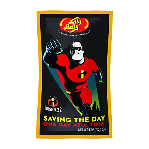 Jelly Belly Incredibles 2 Jelly Beans, Assorted Flavors, 1-oz, 24 Pack -