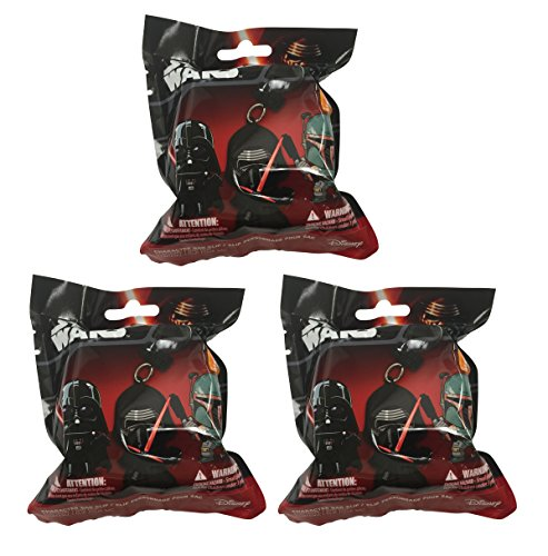 "Star Wars Figure Hangers Mystery Pack Set of 3 Packs ""Contai"