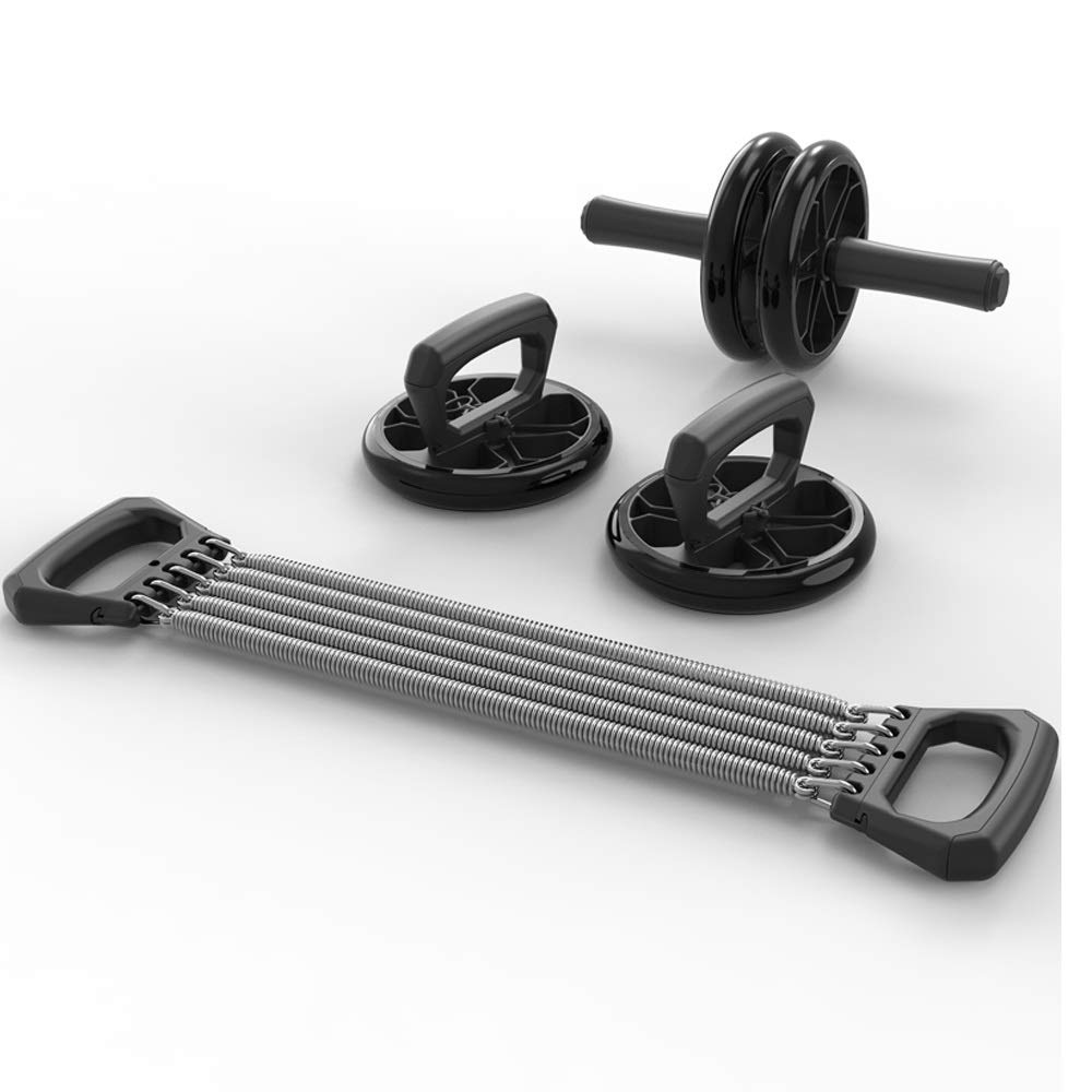 Byx- Abdominal Wheel Men's Abdominal Home Training Abdominal Wheels Fitness Equipment Women's Beginner Rolling Belly Set -Roller Wheel (Color : B)