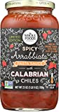 Whole Foods Market, Spicy Arrabiatta Pasta Sauce with Calabrian Chile, 25 oz