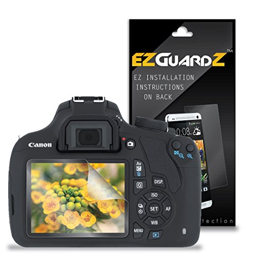 (3-Pack) EZGuardZ Screen Protector for Canon Rebel T5 (Ultra Clear) For Sale