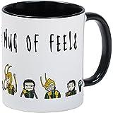 CafePress - Of Feels Mug - Unique Coffee Mug, Coffee Cup