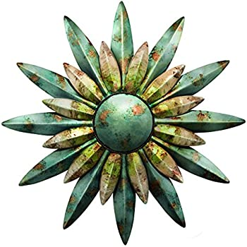 Regal Art Gift 10200 Sunburst Sun Wall Decor Aqua