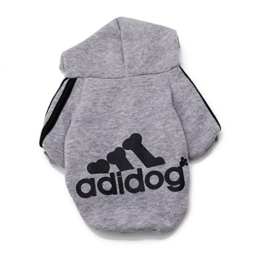 Tootsie Roll Costume Amazon (Delight eShop Winter Casual Adidog Pet Dog Clothes Warm Hoodie Coat Jacket Clothing For Dog)