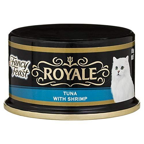 FANCY FEAST Royale Tuna with Shrimp 24X85G (12243281) (CFFR85TS24)