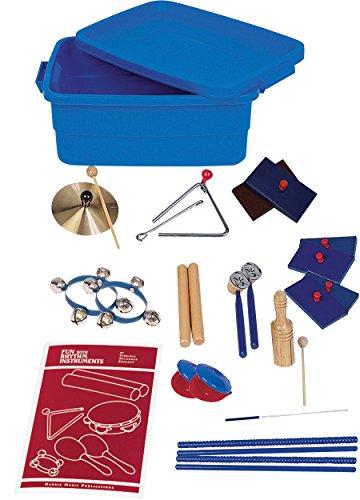 Player Instrument Set (Childcraft Band Instrument Rhythm Set, 15 Players)