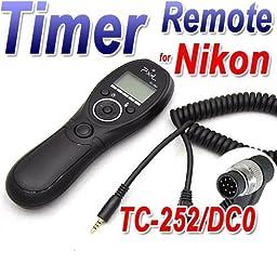 PIXEL TC-252/DC0 Wireless Shutter Remote Control Release for Nikon D800series,Fujifilm S5Pro,S3Pro,Kodak DCS-14n Camera