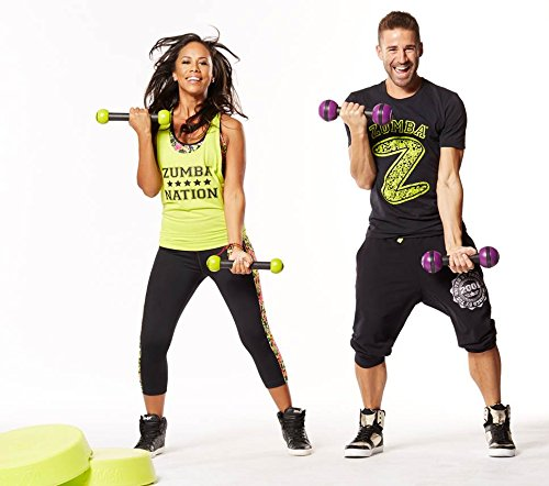 Zumba Toning Sticks (Multi, 2.5 Pounds)