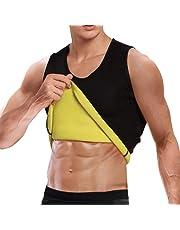 Cimkiz Sauna Vest for Man Neoprene Sweat Vest Weight Lose Sweat Tank top Fat Burner Vest Thermo Vest no Zip