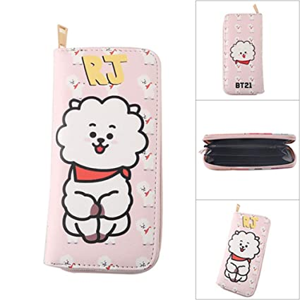 Christ For Givek Kpop BTS PU Cartera Caricatura impresa ...