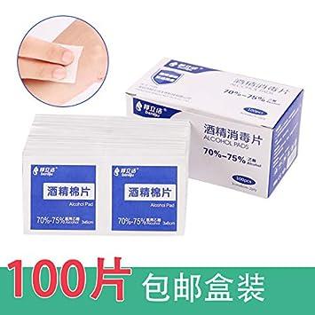 AAPP SHOP Alcohol tabletas de algodón tabletas de desinfección teteras Chinas tabletas de Alcohol toallitas toallitas Desechables algodón algodón hisopos de ...