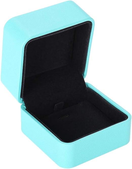 Caja de Almacenamiento de joyería de Cuero de PU, para Joya de Regalo y Accesorios y Estuche de Embalaje(2): Amazon.es: Hogar