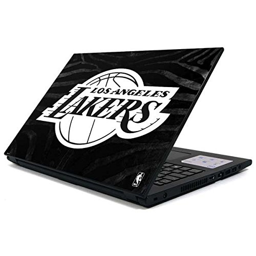 Skinit NBA Los Angeles Lakers Inspiron 15 3000 Series Skin - Los Angeles Lakers Black Animal Print Design - Ultra Thin, Lightweight Vinyl Decal Protection by Skinit