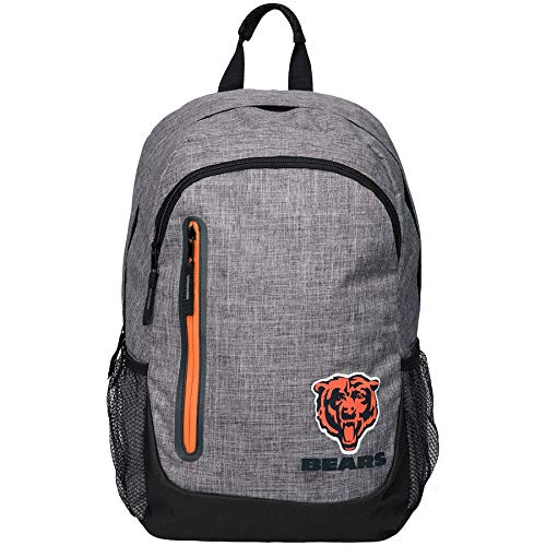 - FOCO NFL Chicago Bears Heather Grey Bold Color Backpackheather Grey Bold Color Backpack, Team Color, One Size