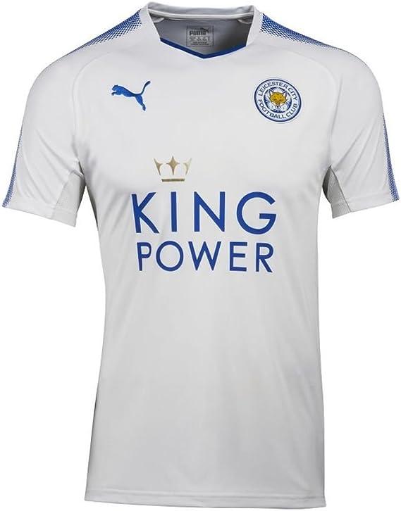 Puma Fútbol Leicester City FC England Camiseta 3rd 2017 2018 Niños Color Blanco Azul, Mujer, beige, 152: Amazon.es: Deportes y aire libre