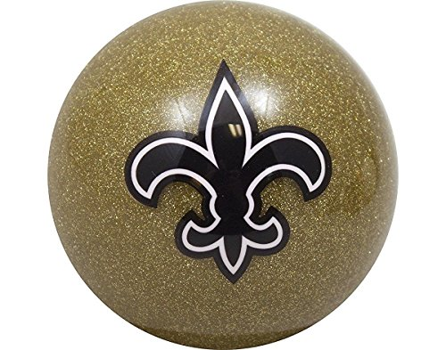 New Orleans Saints Gold Billiard Pool Cue Ball