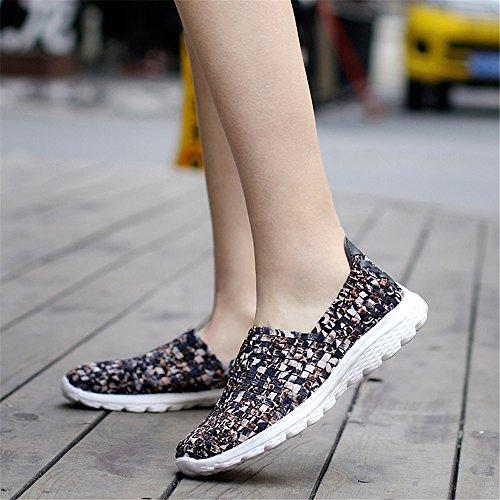 Marrón SH075 para Zapatillas AIRAVATA Mujer 0YqIWd