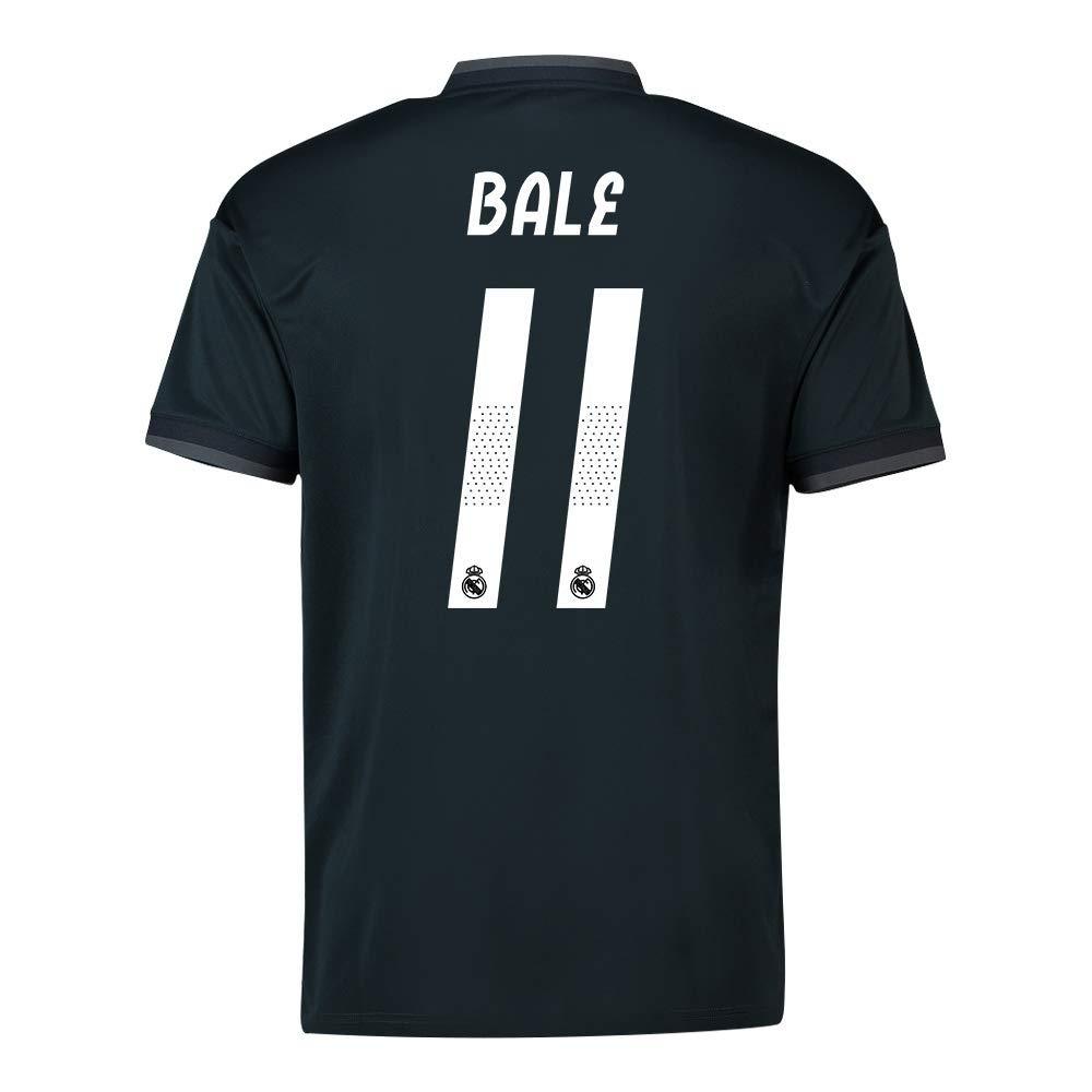 2018-19 Real Madrid Away Football Soccer T-Shirt Trikot (Gareth Bale 11) - Kids