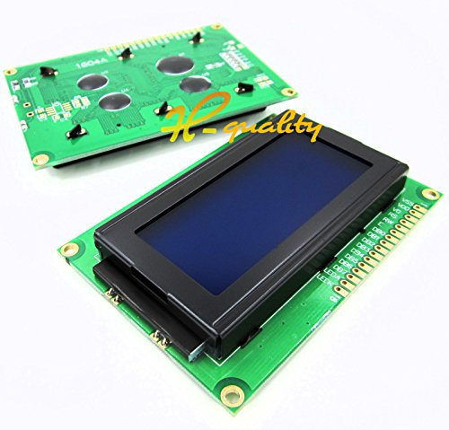 5PCS LCD1604 16x4 Character LCD Display BOARD LCM Blue Blacklight 5V Arduino NEW