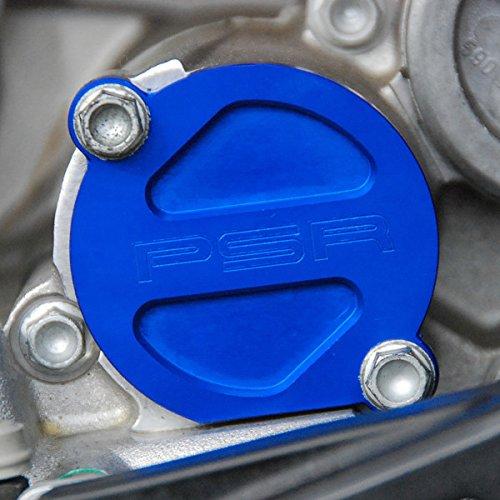 パワースタンドレーシング Powerstands Racing オイルフィルターカバー 磁石付 05年-14年 RM-Z250、KX250F 青 0940-1270 00-01980-25 B01MA4X8CU