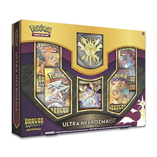 Pokemon TCG: Sun & Moon 7.5 Dragon Majesty Ultra Necrozma Gx Box