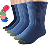 Best Gold Toe Athletic Shoes For Men - Gold Toe Men's Athletic Cotton Crew Socks 6-Pack Review