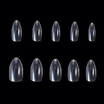 Health & Beauty Dedicated New Artificial Nails Tips False Acrylic Nail Art Tips Clear Nail Tips False Nail Comfortable Feel