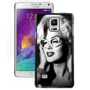 Customized,Easy Set Note4 Case Design with Marilyn Monroe 2 Cell Phone Case for Samsung Galaxy Note 4 N910S N910C in Black by supermalls