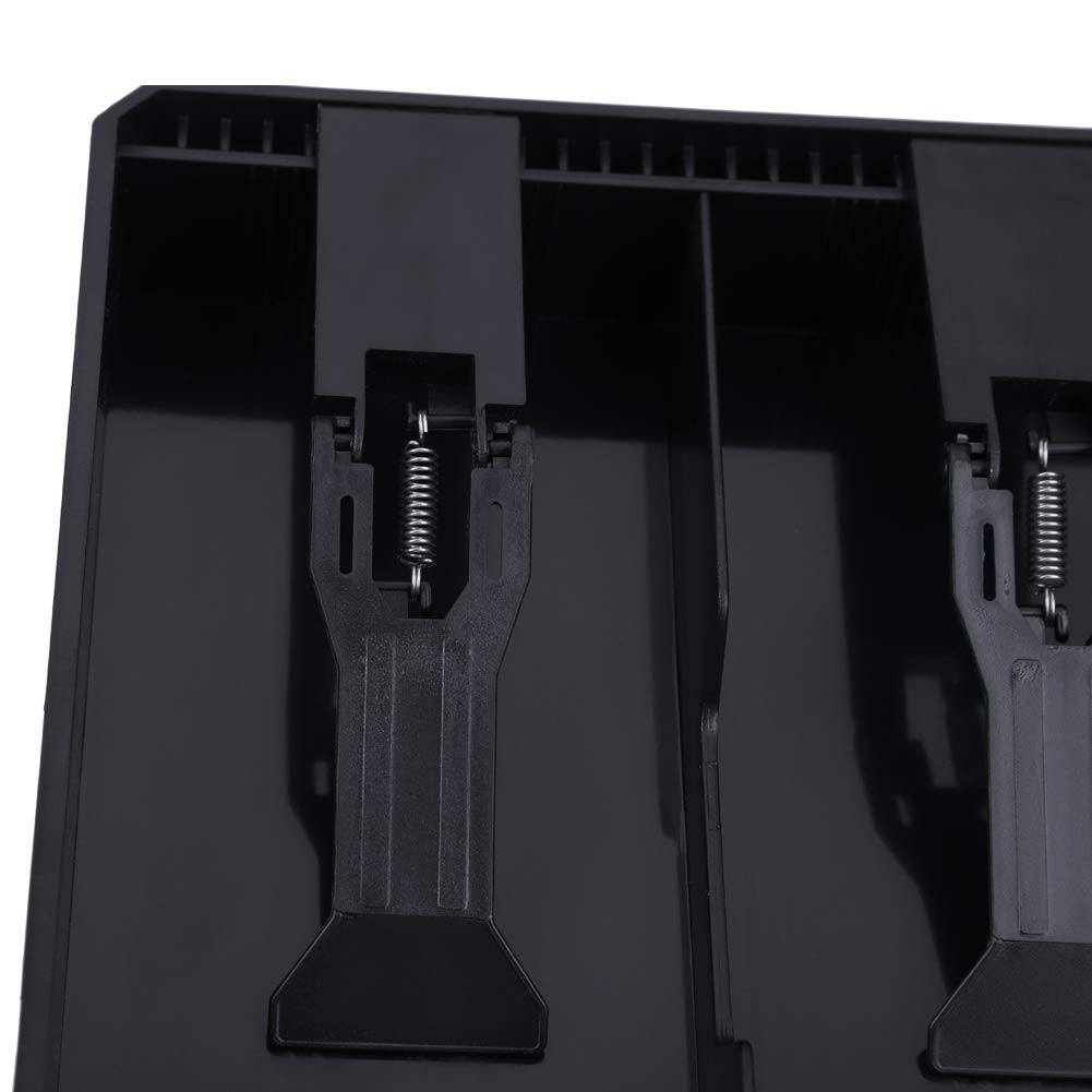 Color : Black, Design : #1 Delaman Kassenlade Kassierer Ordnungssicherer Aufbewahrungsbeh/älter Kassenschublade