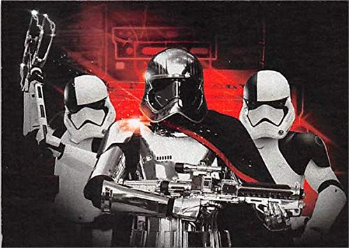 Captain Phasma trading card Star Wars Journey to Last Jedi Topps 2017#6 Darkness Rises Insert Edition
