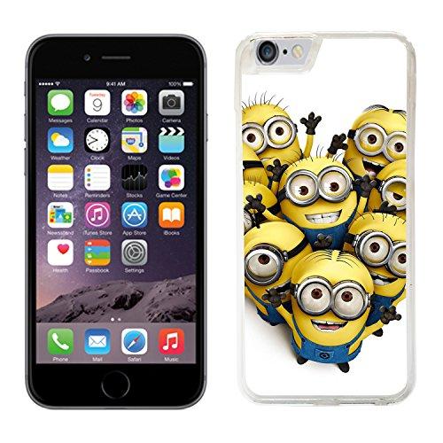 Despicable Me Moi moche et méchant Film Minions cas adapte iphone 6 couverture coque rigide de protection (9) case pour la apple i phone 6 cover Skin
