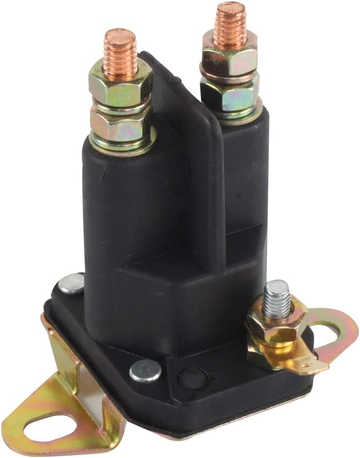 VKS XR-2149 Solenoid, Post, Grey/Black Lawn Mower Solenoids Garden Outdoor 33-331