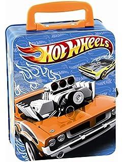 klein 2883 mallette hot wheels en mtal pour 18 voitures